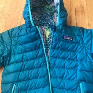 Patagonia reversible insulated coat